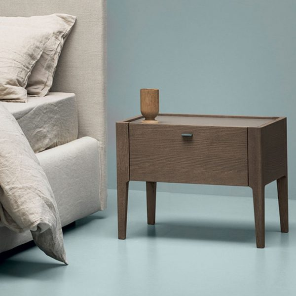 Baird Bedside Table with One Drawer