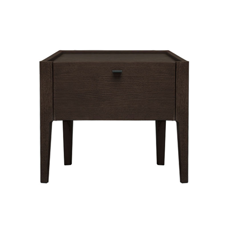 Olson and Baker Baird Bedside Table with One Drawer by Olson and Baker Studio