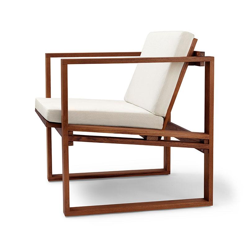 Carl Hansen BK11 Outdoor Lounge Armchair by Bodil Kjær