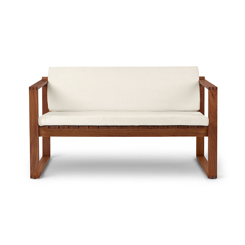 Carl Hansen BK12 Outdoor Two Seat Lounge Sofa by Bodil Kjær
