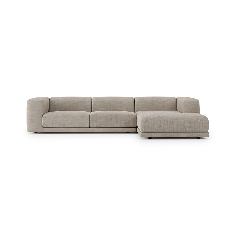 Case Furniture Kelston Three Seat Right Hand Facing Corner Sofa with Chaise by Matthew Hilton