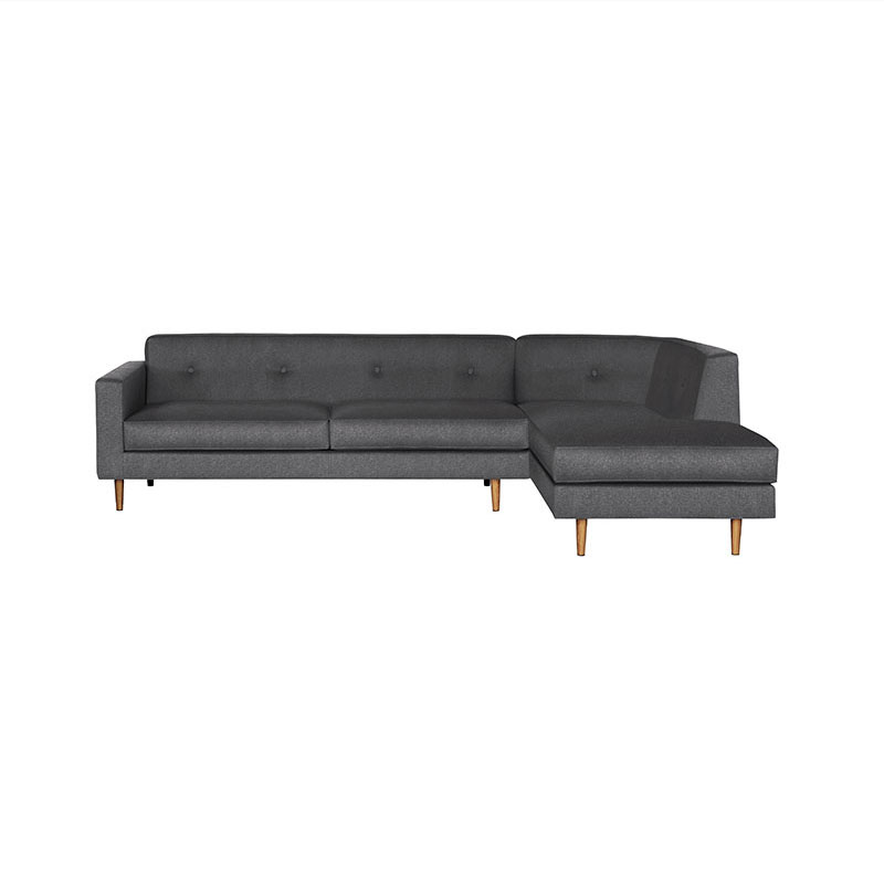 Case Furniture Moulton Three Seat Right Hand Facing Corner Sofa by Matthew Hilton