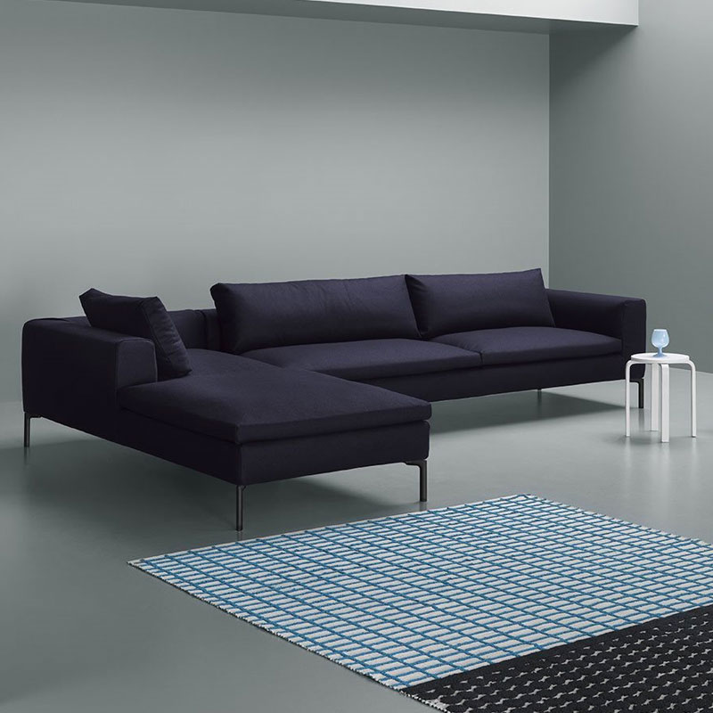Cockcroft Right Hand Chaise Sofa by Olson and Baker Lifeshot 02