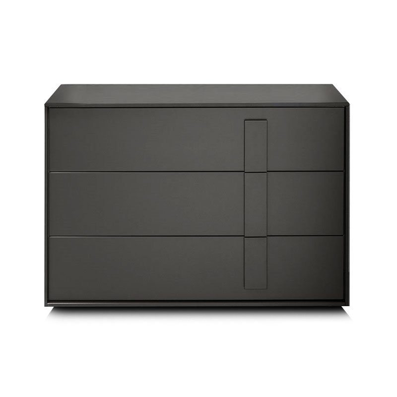 Olson and Baker Crick Chest of Three Drawers by Olson and Baker Studio