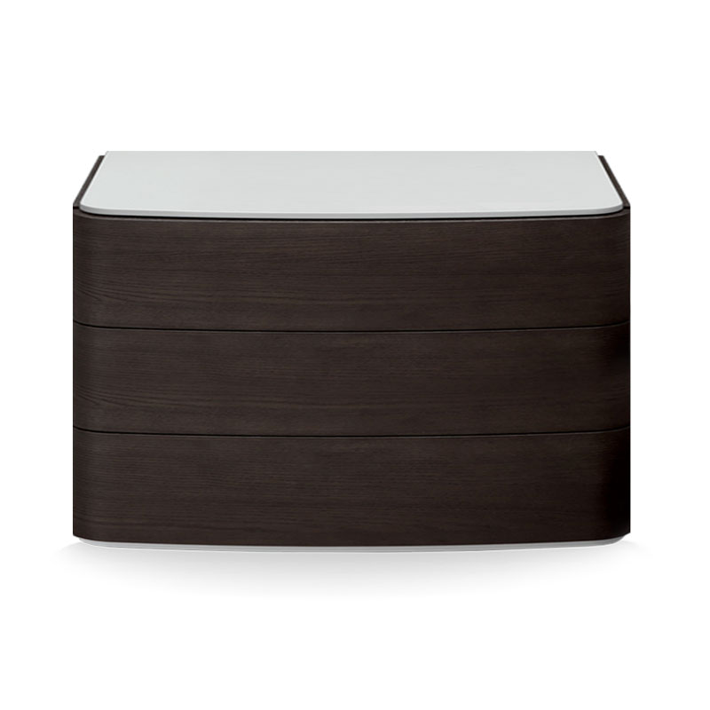 Olson and Baker Dalton Chest of Three Drawers by Olson and Baker Studio