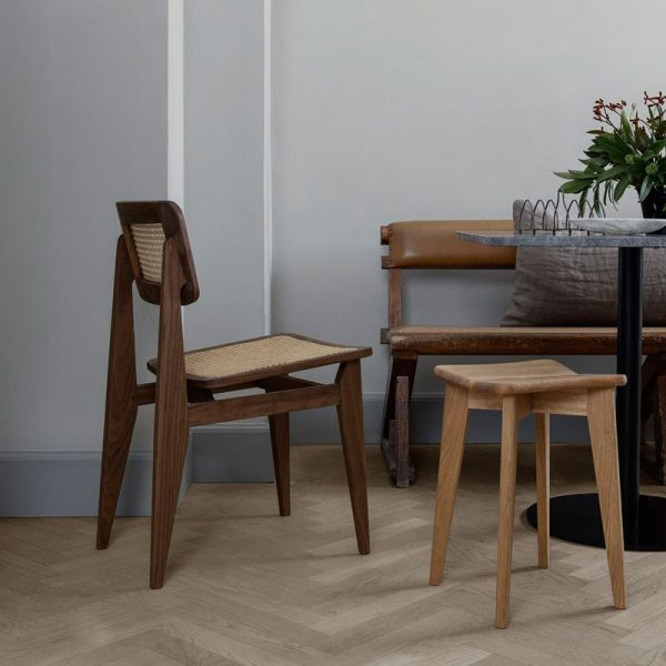 C-Chair Un-Upholstered Dining Chair