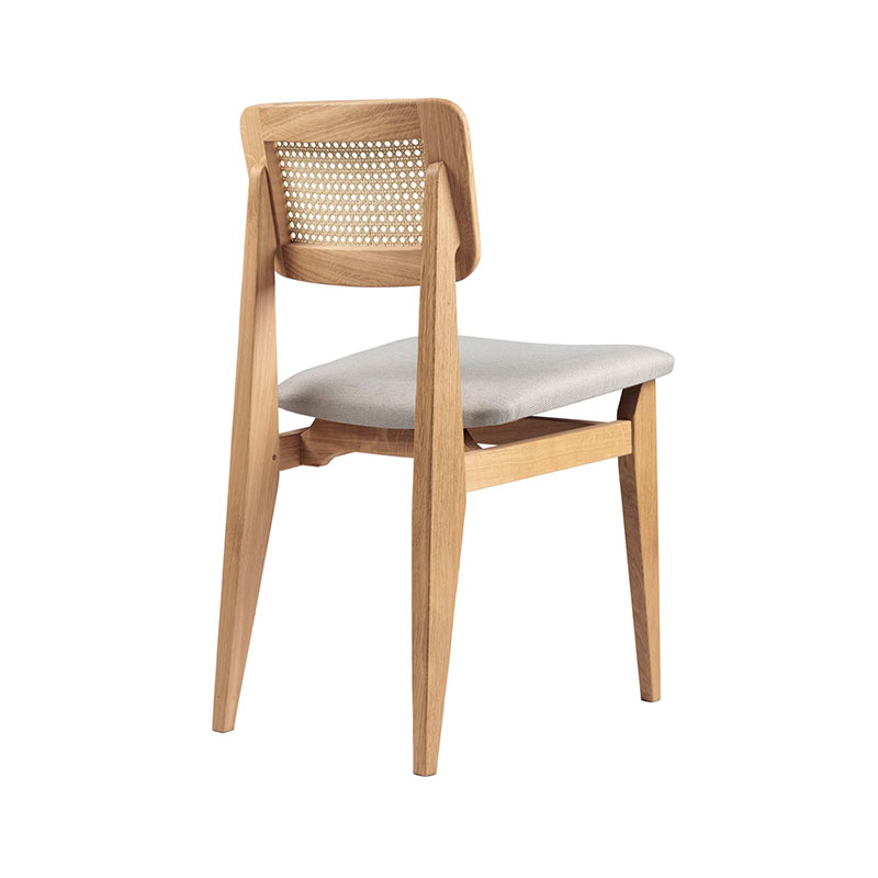 Gubi C-Chair Upholstered Dining Chair by Marcel Gascoin 1 Olson and Baker - Designer & Contemporary Sofas, Furniture - Olson and Baker showcases original designs from authentic, designer brands. Buy contemporary furniture, lighting, storage, sofas & chairs at Olson + Baker.