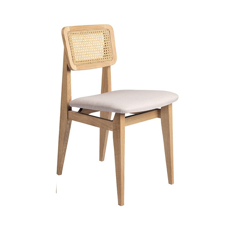 Gubi C-Chair Seat Upholstered Dining Chair by Marcel Gascoin