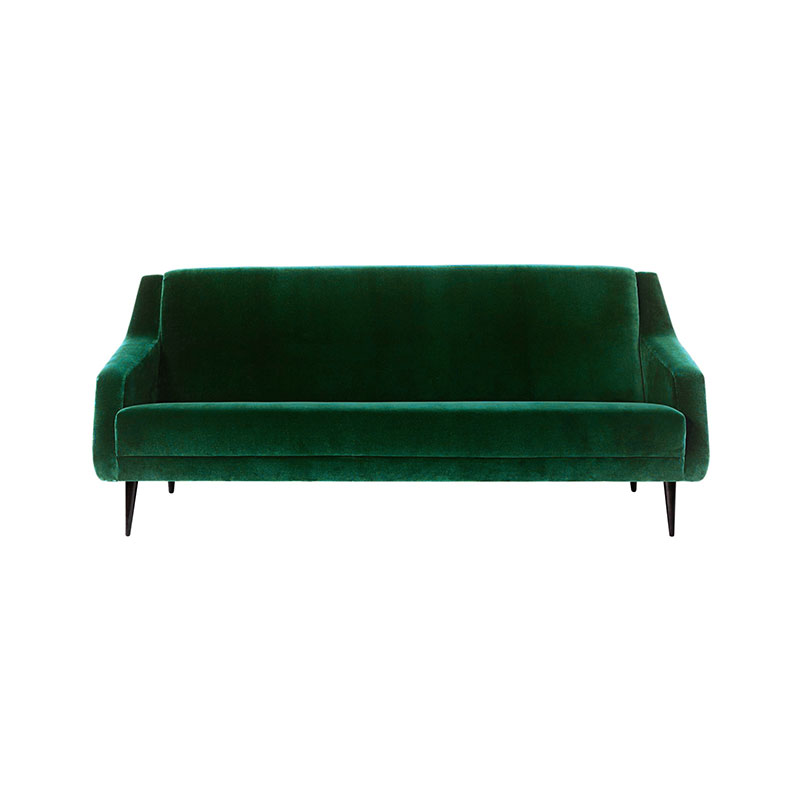 Gubi CDC.2 Fully Upholstered Two Seat Sofa by Carlo De Carli