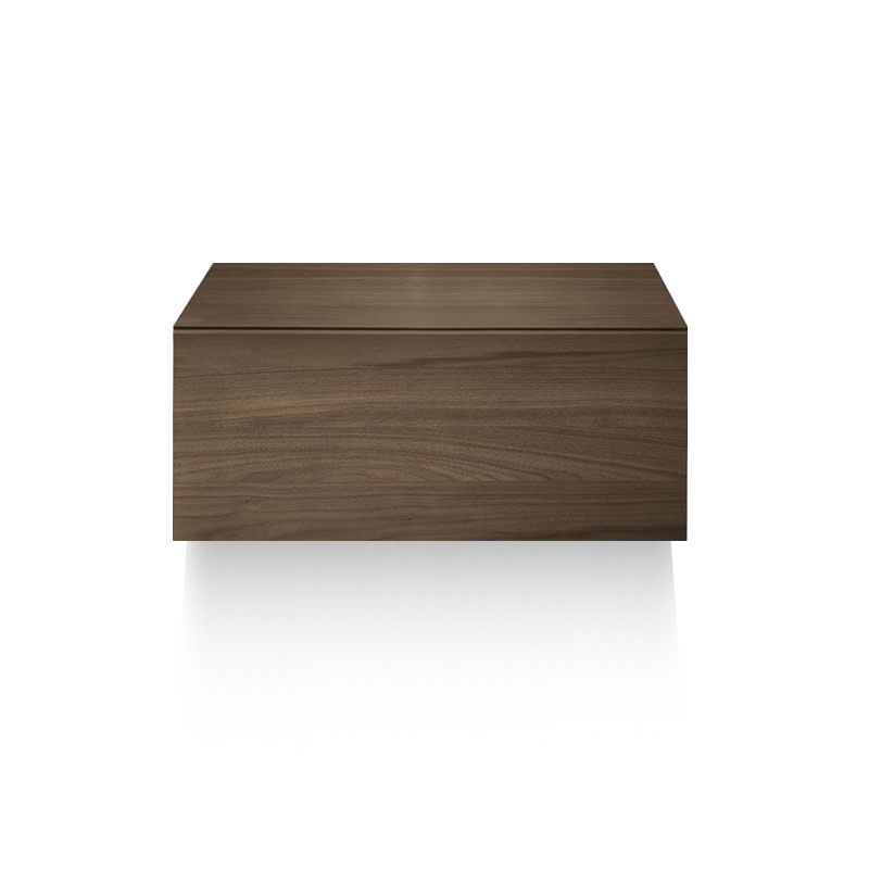 Olson and Baker Herschel Wall Mounted Bedside Table with One Drawer by Olson and Baker Studio