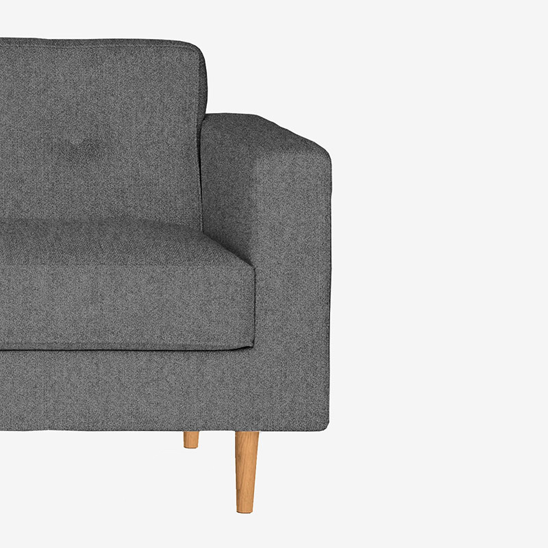 Case Furniture Moulton Two Seat Sofa by Matthew Hilton