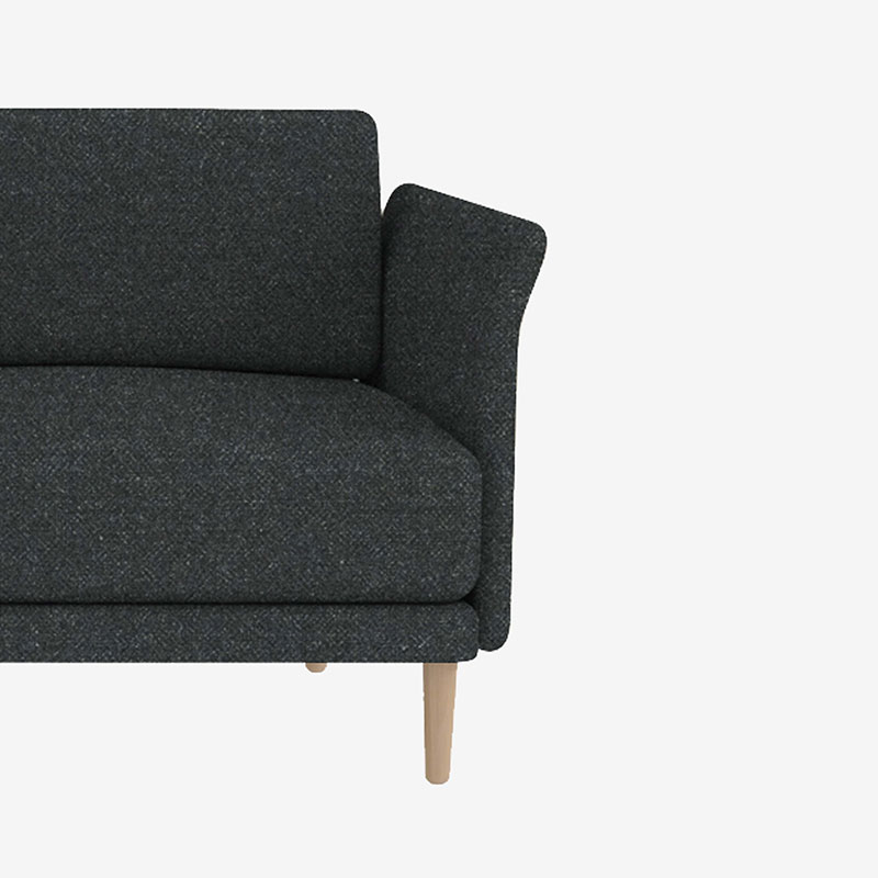 Case Furniture Theo Two Seat Sofa by Matthew Hilton