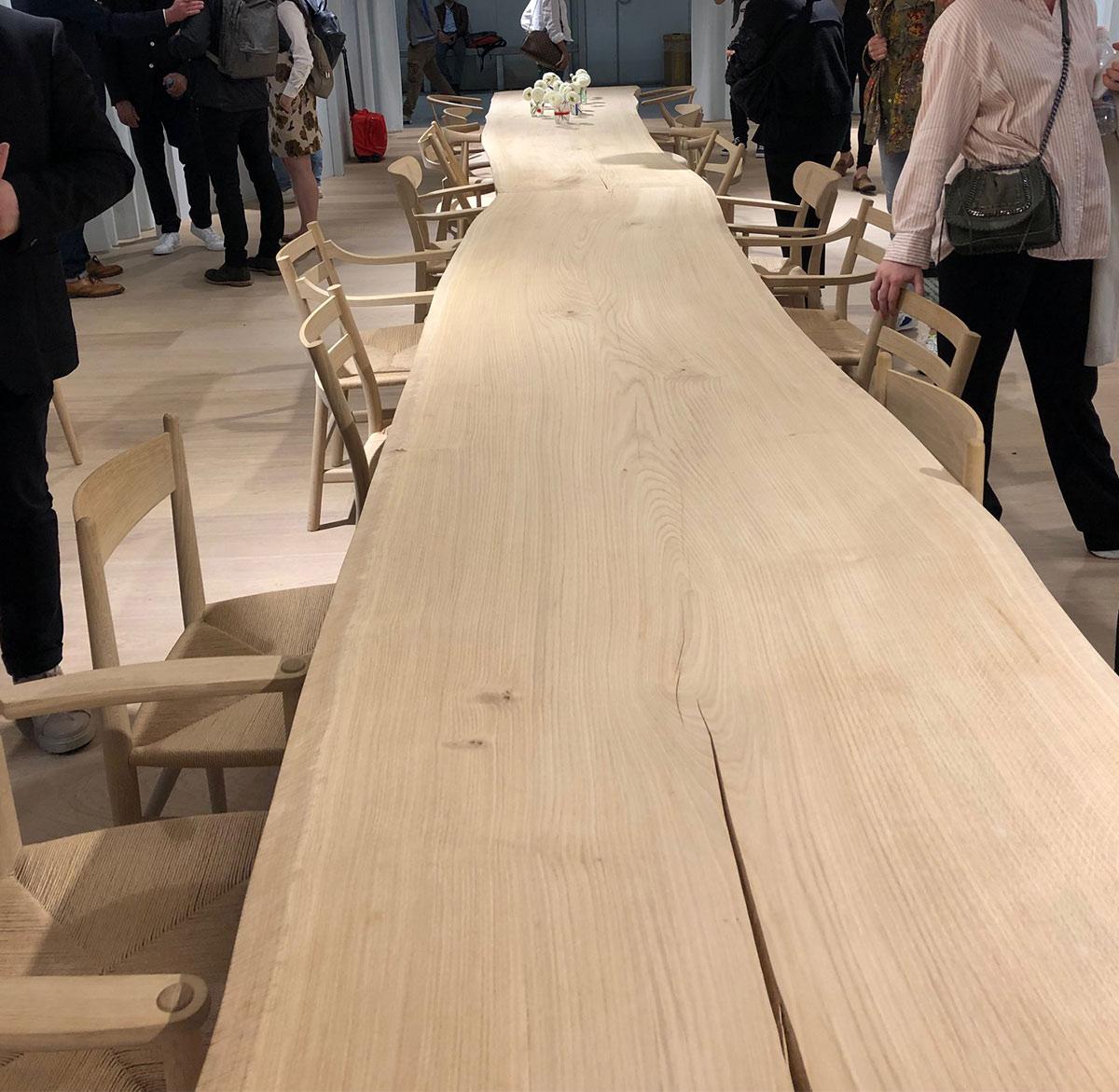 Olson and baker at Carl Hansen_Milan 2019 2