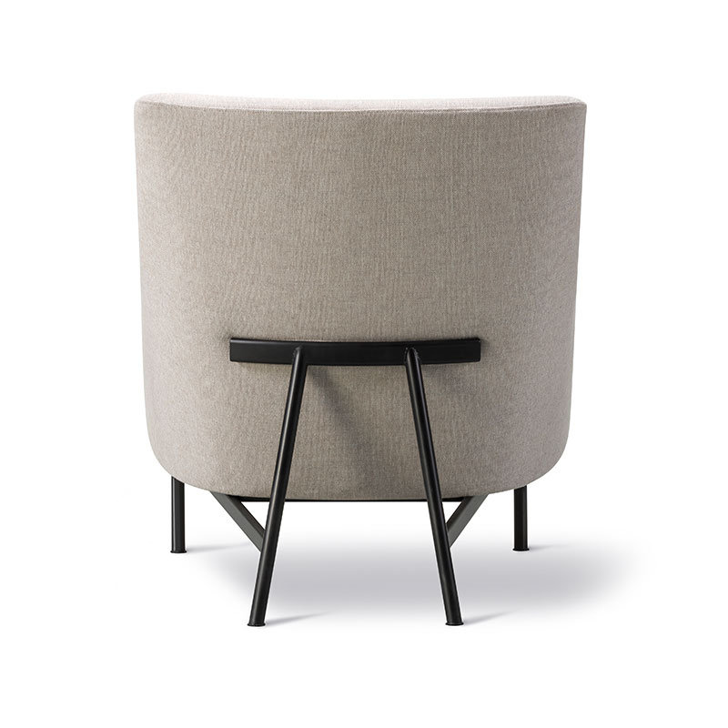 Fredericia A-Chair Lounge Chair Sunniva 717 Black 02