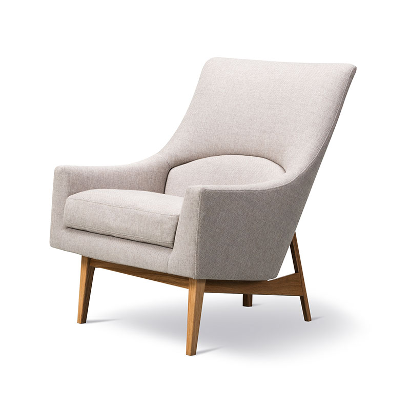 Fredericia A-Chair Lounge Chair by Jens Risom