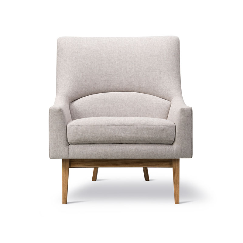 Fredericia A-Chair Lounge Chair Sunniva 717 Lacquered Oak 02