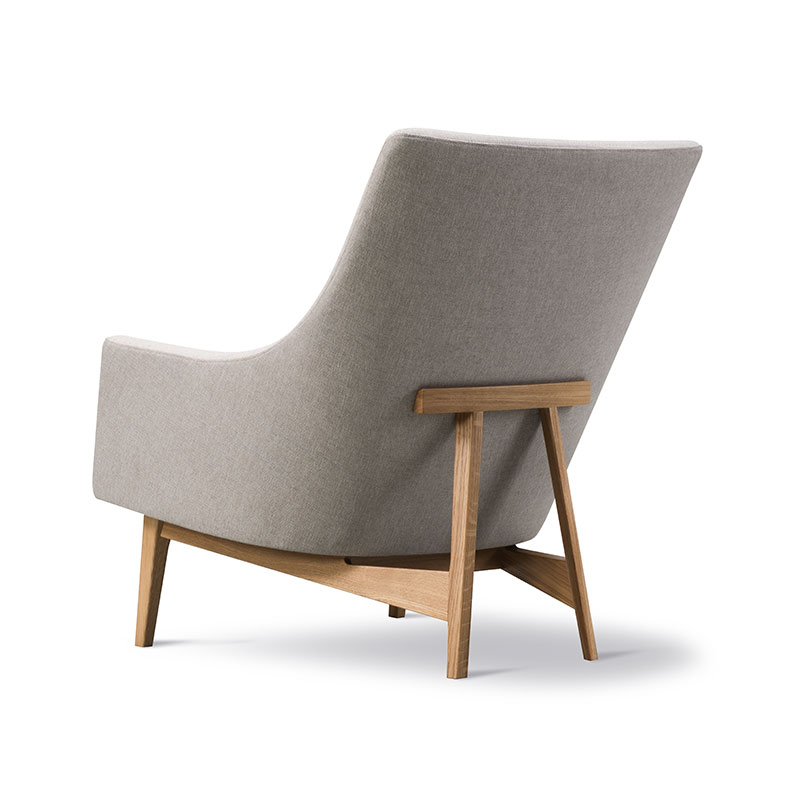 Fredericia A-Chair Lounge Chair Sunniva 717 Lacquered Oak 04
