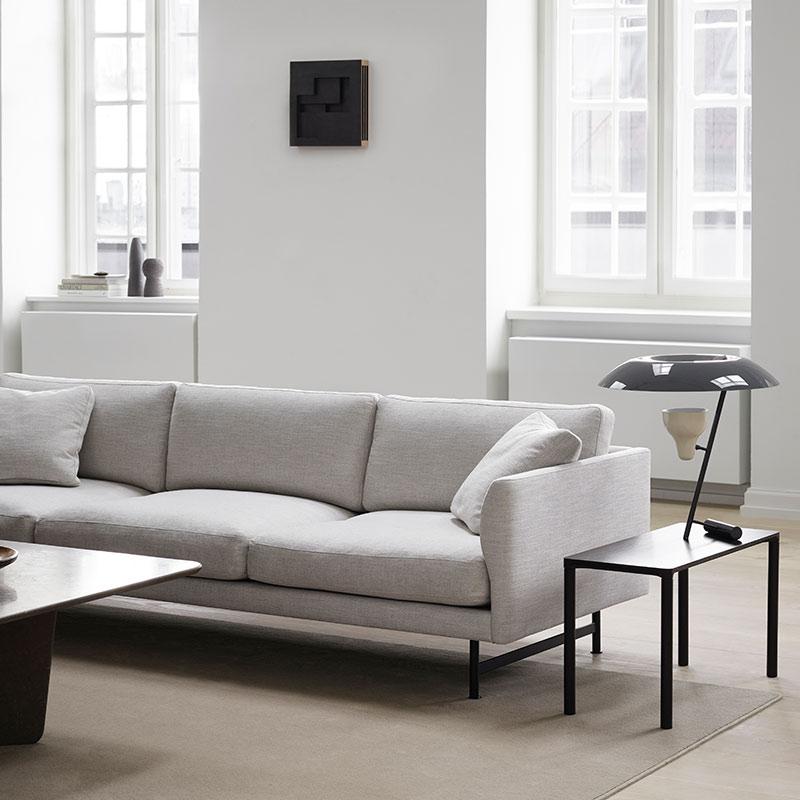 Fredericia Calmo 95 Three Seat Sofa Lifeshot 01