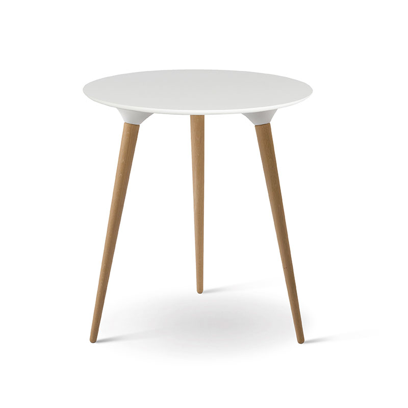 Fredericia Icicle Round Side Table by Thomas Pederson