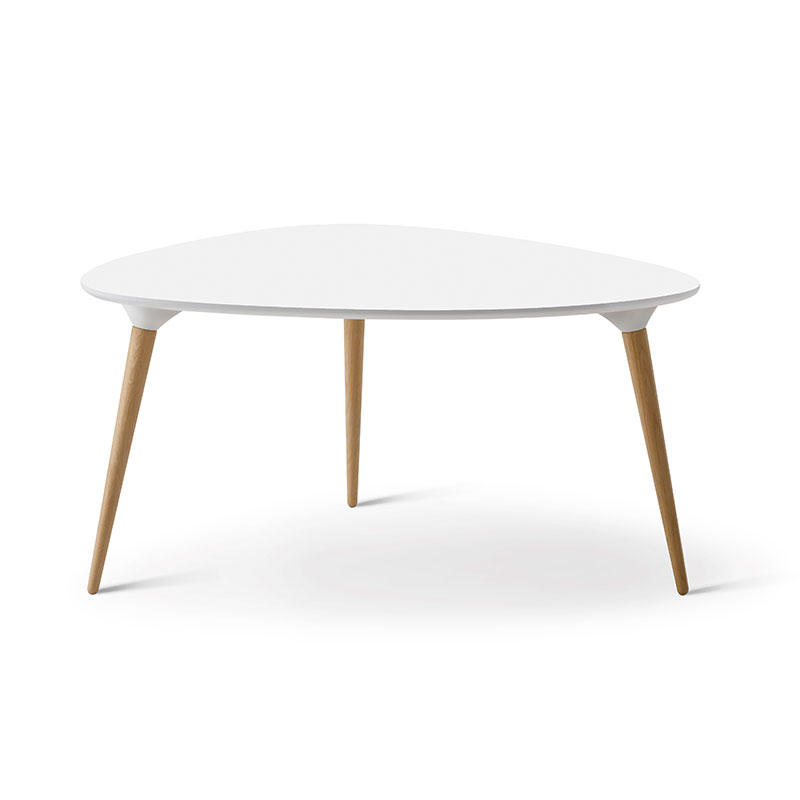 Fredericia Icicle Triangular Coffee Table by Thomas Pederson