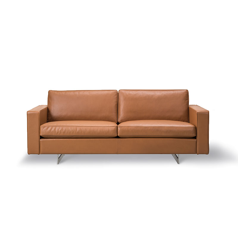 Fredericia Risom 65 Two Seat Sofa by Jens Risom