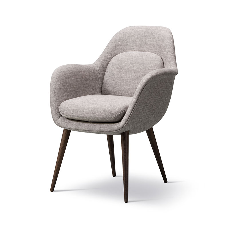 Fredericia Swoon Dining Chair by Space Copenhagen