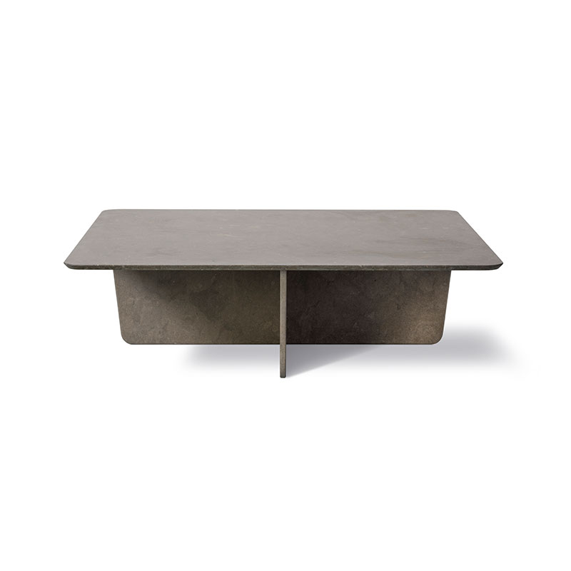 Fredericia Tableau Rectangular Coffee Table by Space Copenhagen Olson and Baker - Designer & Contemporary Sofas, Furniture - Olson and Baker showcases original designs from authentic, designer brands. Buy contemporary furniture, lighting, storage, sofas & chairs at Olson + Baker.