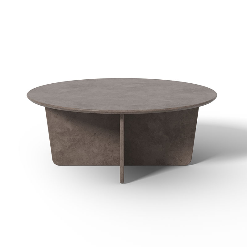 Fredericia Tableau Round Coffee Table by Space Copenhagen Olson and Baker - Designer & Contemporary Sofas, Furniture - Olson and Baker showcases original designs from authentic, designer brands. Buy contemporary furniture, lighting, storage, sofas & chairs at Olson + Baker.