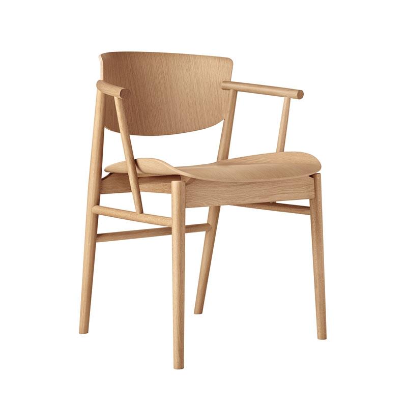 Fritz Hansen N01 Chair by Nendo Oak life 2
