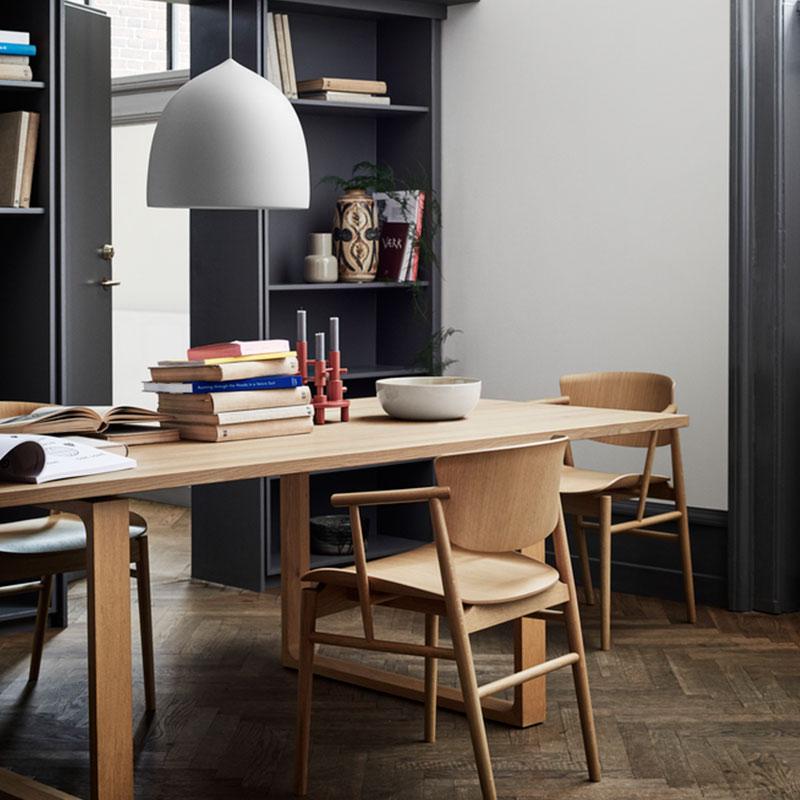 Fritz Hansen N01 Chair by Nendo Oak life 4