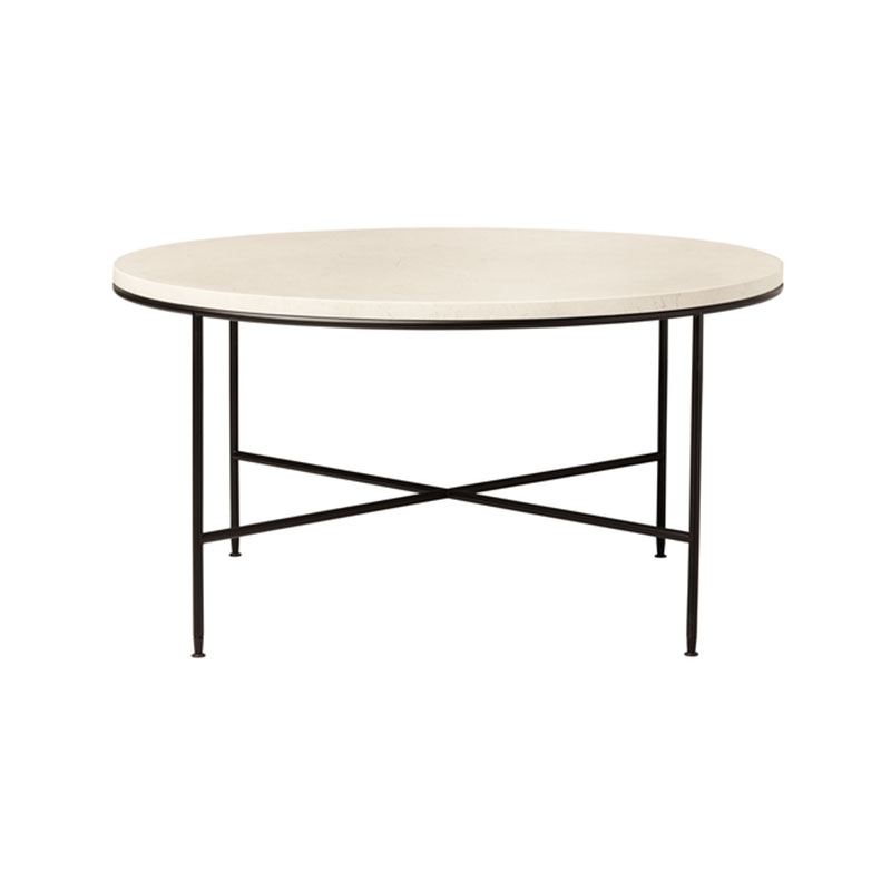 Fritz Hansen Planner Round Coffee Table by Paul McCobb