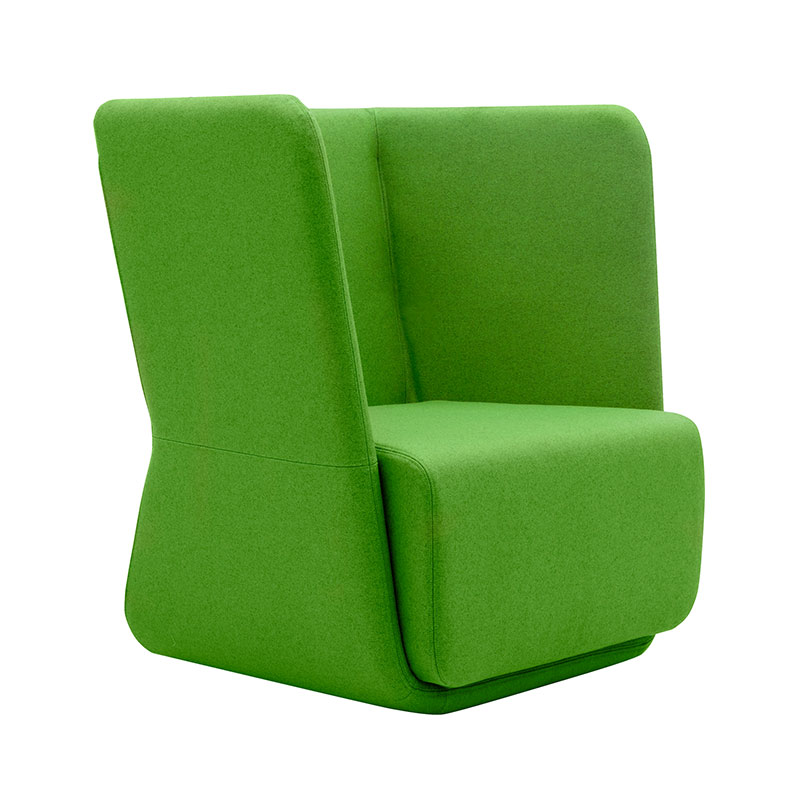 Softline Basket Chair with Low Backrest 956 Divina 3 02