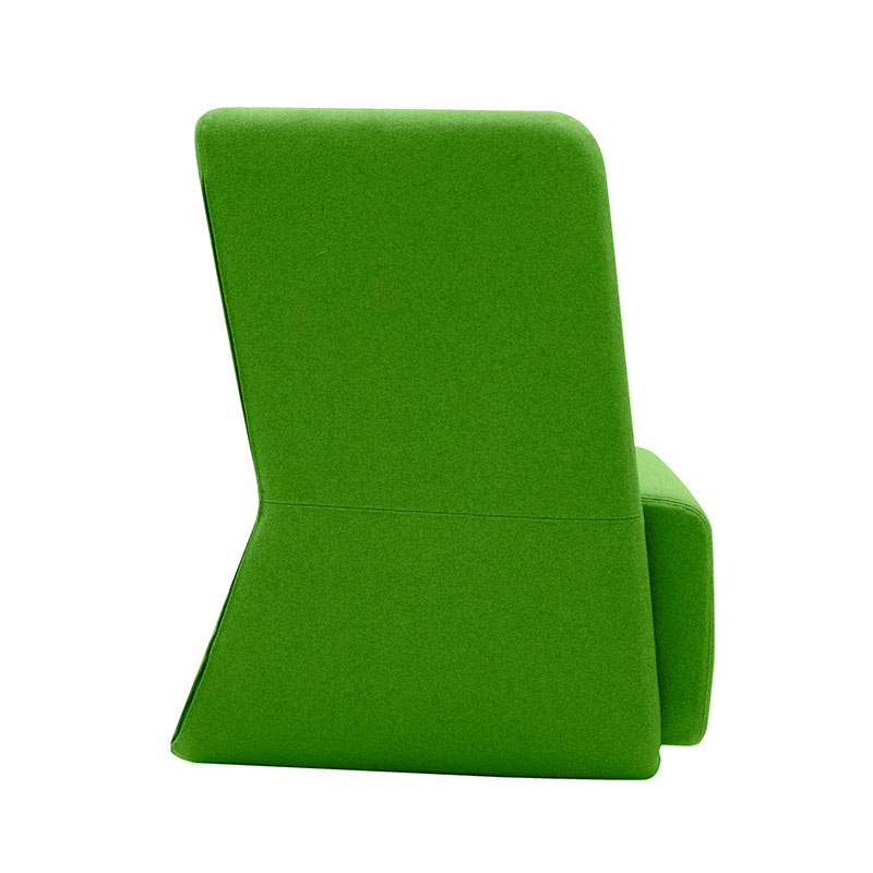 Softline Basket Chair with Low Backrest 956 Divina 3 03