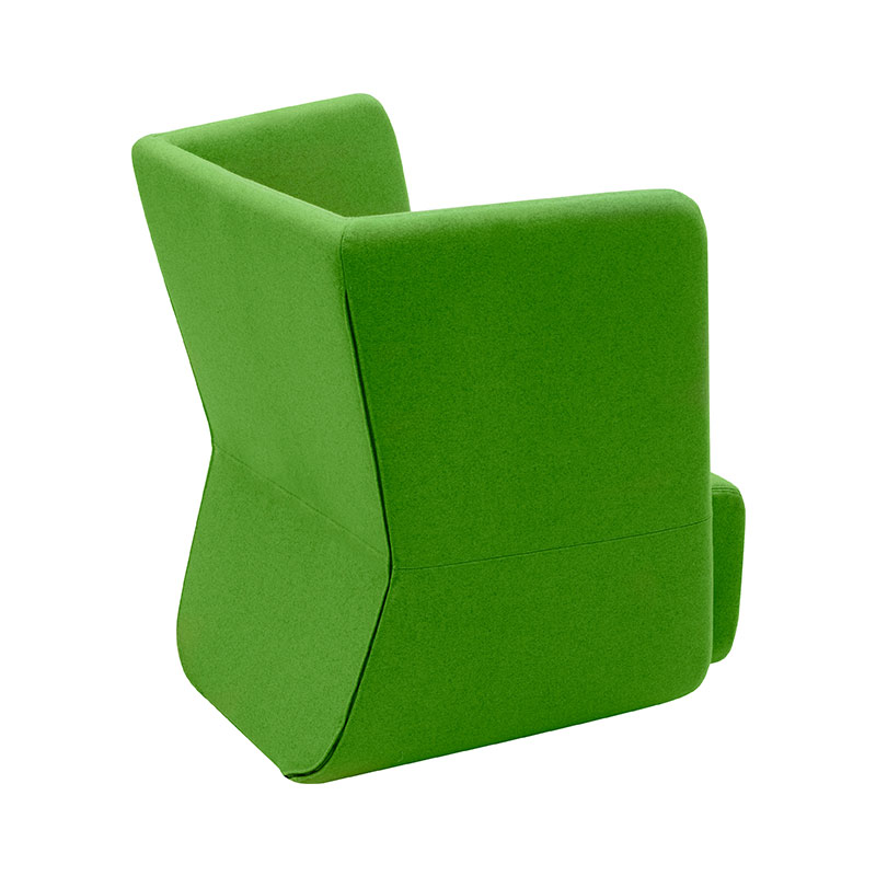 Softline Basket Chair with Low Backrest 956 Divina 3 04