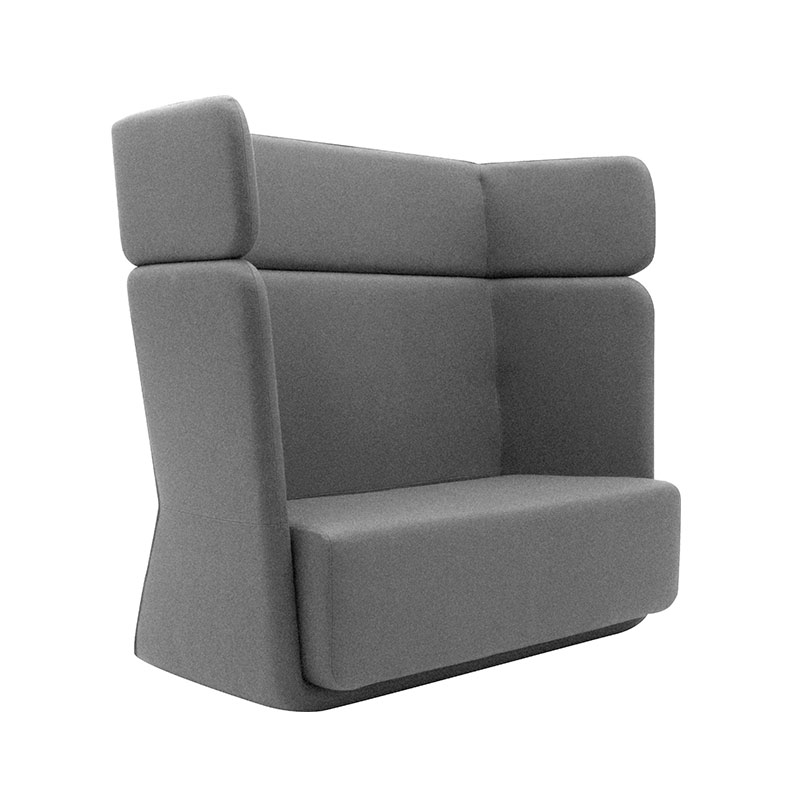 Softline Basket Two Seat Sofa with High Backrest 171 Divina 3 02