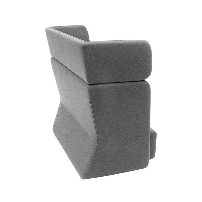 Softline Basket Two Seat Sofa with High Backrest 171 Divina 3 03