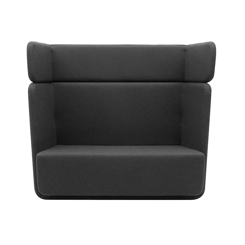 Softline Basket Two Seat Sofa with High Backrest by Matthias Demacker