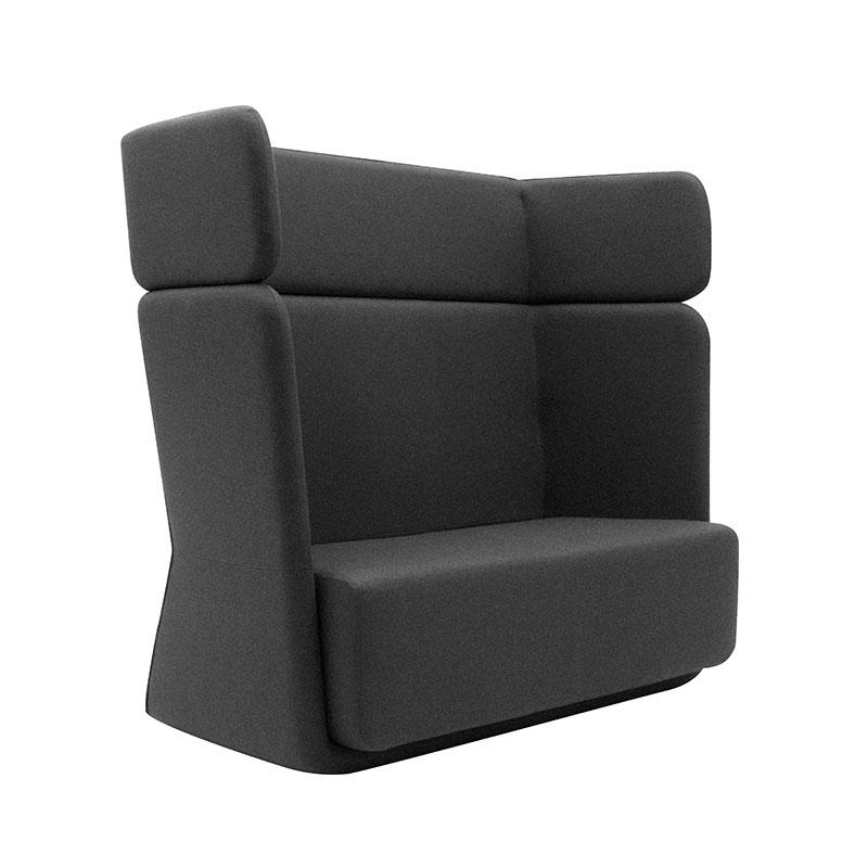 Softline Basket Two Seat Sofa with High Backrest 181 Divina 3 02