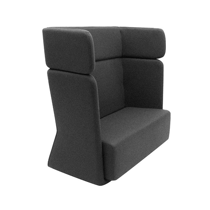 Softline Basket Two Seat Sofa with High Backrest 181 Divina 3 03