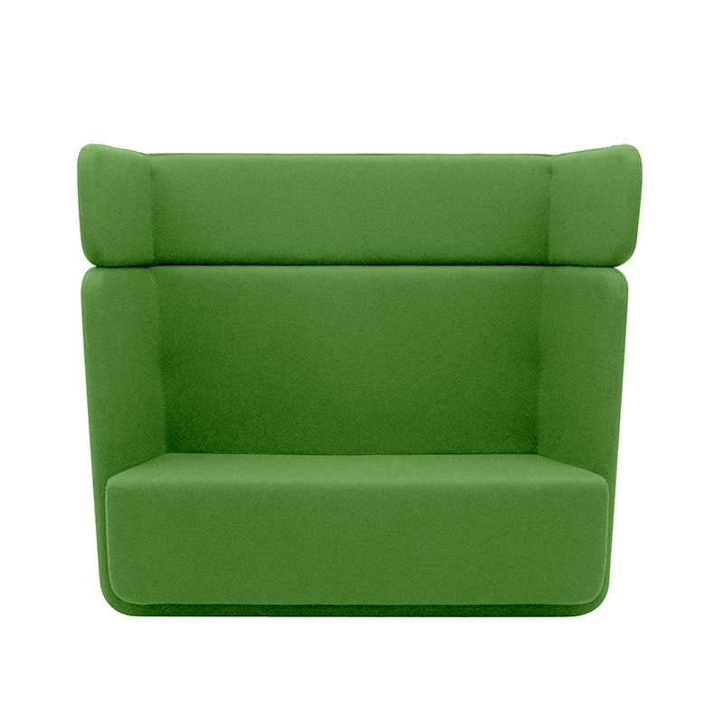 Softline Basket Two Seat Sofa with High Backrest 956 Divina 3 01