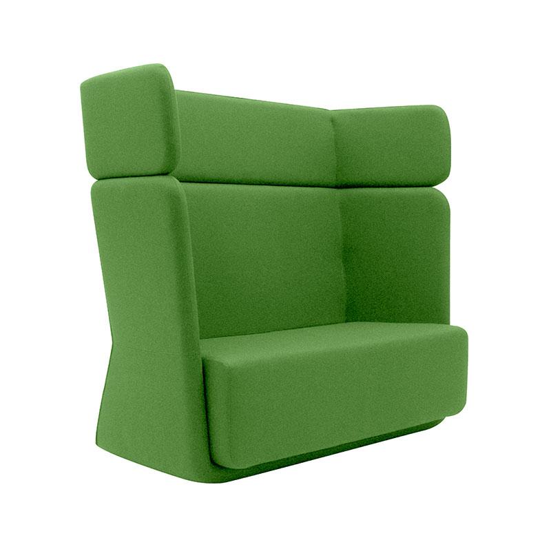 Softline Basket Two Seat Sofa with High Backrest 956 Divina 3 02