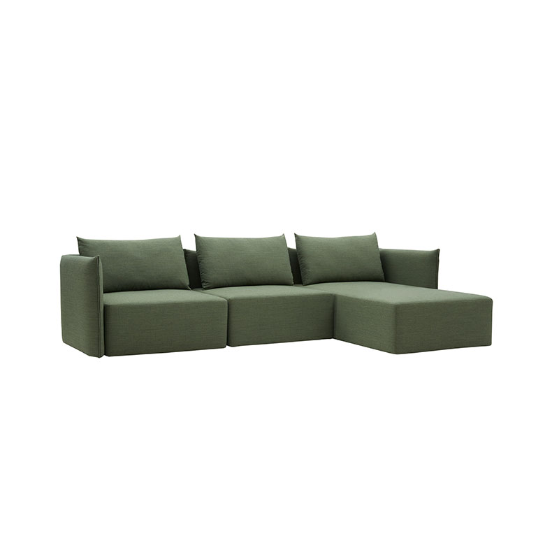 Softline Cape Three Seat Right Hand Facing Corner Sofa with Chaise by Johannes Steinbauer