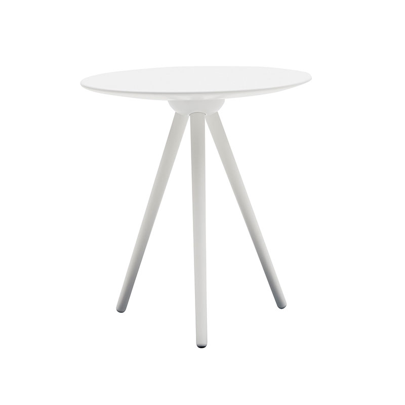 Softline Circoe Side Table White 01 Olson and Baker - Designer & Contemporary Sofas, Furniture - Olson and Baker showcases original designs from authentic, designer brands. Buy contemporary furniture, lighting, storage, sofas & chairs at Olson + Baker.