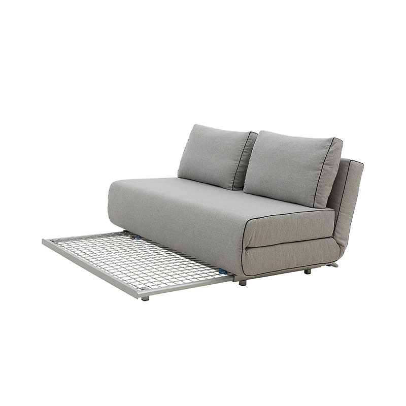 Softline City Two Seat Sofa Bed Felt Melange 620 04 Olson and Baker - Designer & Contemporary Sofas, Furniture - Olson and Baker showcases original designs from authentic, designer brands. Buy contemporary furniture, lighting, storage, sofas & chairs at Olson + Baker.