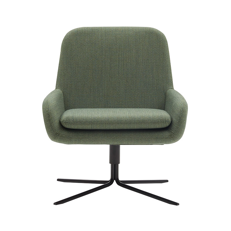 Softline Coco Swivel Chair by Busk+Hertzog