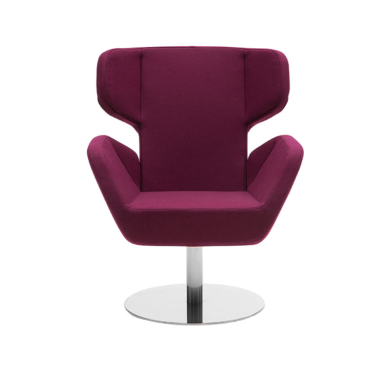 Softline Cosy Wing Chair by Matthias Demacker Olson and Baker - Designer & Contemporary Sofas, Furniture - Olson and Baker showcases original designs from authentic, designer brands. Buy contemporary furniture, lighting, storage, sofas & chairs at Olson + Baker.