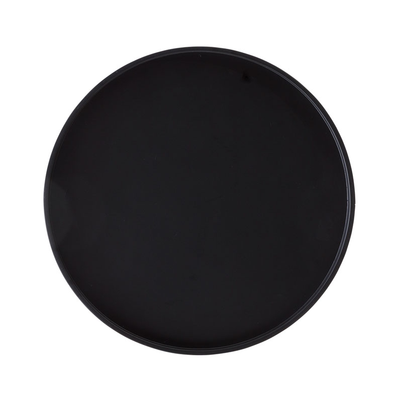 Softline Drum Tray Large Black 01 Olson and Baker - Designer & Contemporary Sofas, Furniture - Olson and Baker showcases original designs from authentic, designer brands. Buy contemporary furniture, lighting, storage, sofas & chairs at Olson + Baker.