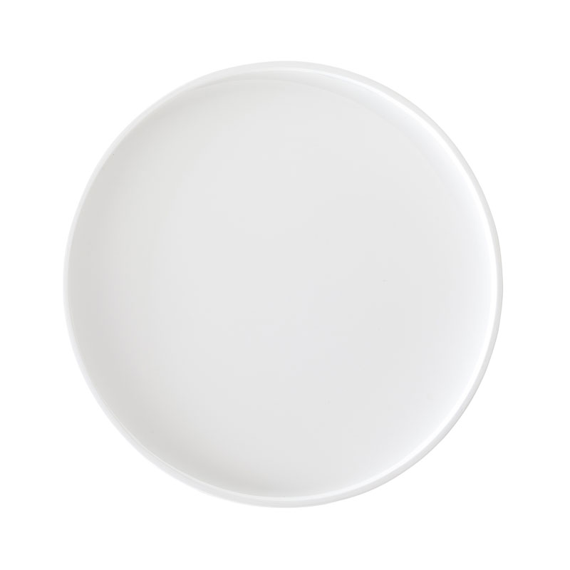 Softline Drum Tray Large White 01 Olson and Baker - Designer & Contemporary Sofas, Furniture - Olson and Baker showcases original designs from authentic, designer brands. Buy contemporary furniture, lighting, storage, sofas & chairs at Olson + Baker.