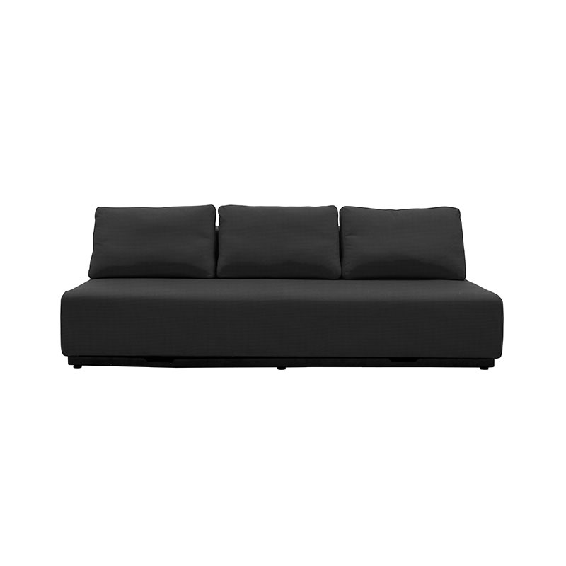 Softline Nevada Three Seat Sofa Bed Modular Sofa Element by Busk-Hertzog