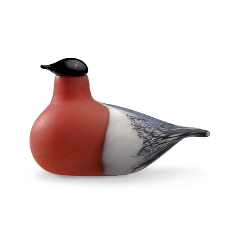 Iittala Birds by Toikka 150x80mm Bullfinch by Oiva Toikka